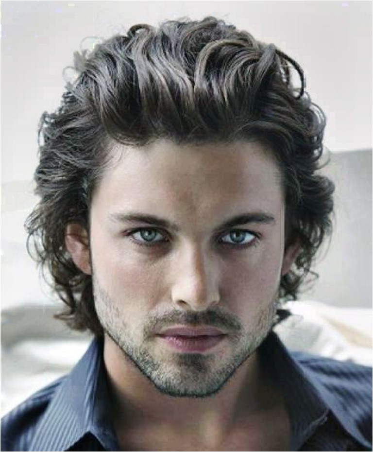 flirty wavy hairstyles for men more 6891