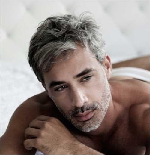 10 best men with gray hair respond