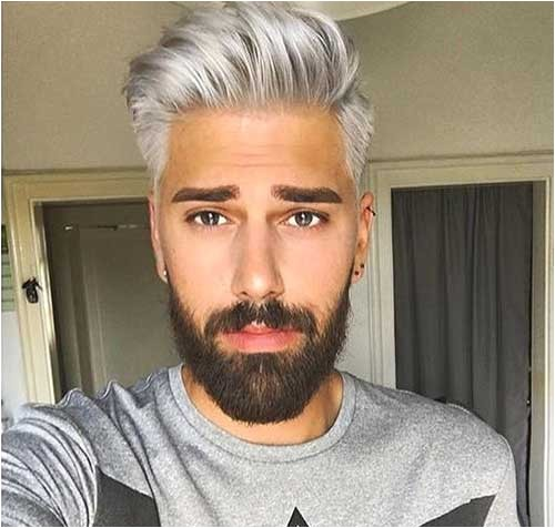 grey hair color on coolest guys on planet