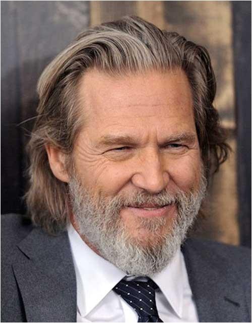 8 long hairstyles for older men