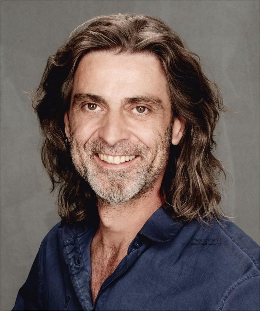 long hairstyles for older men