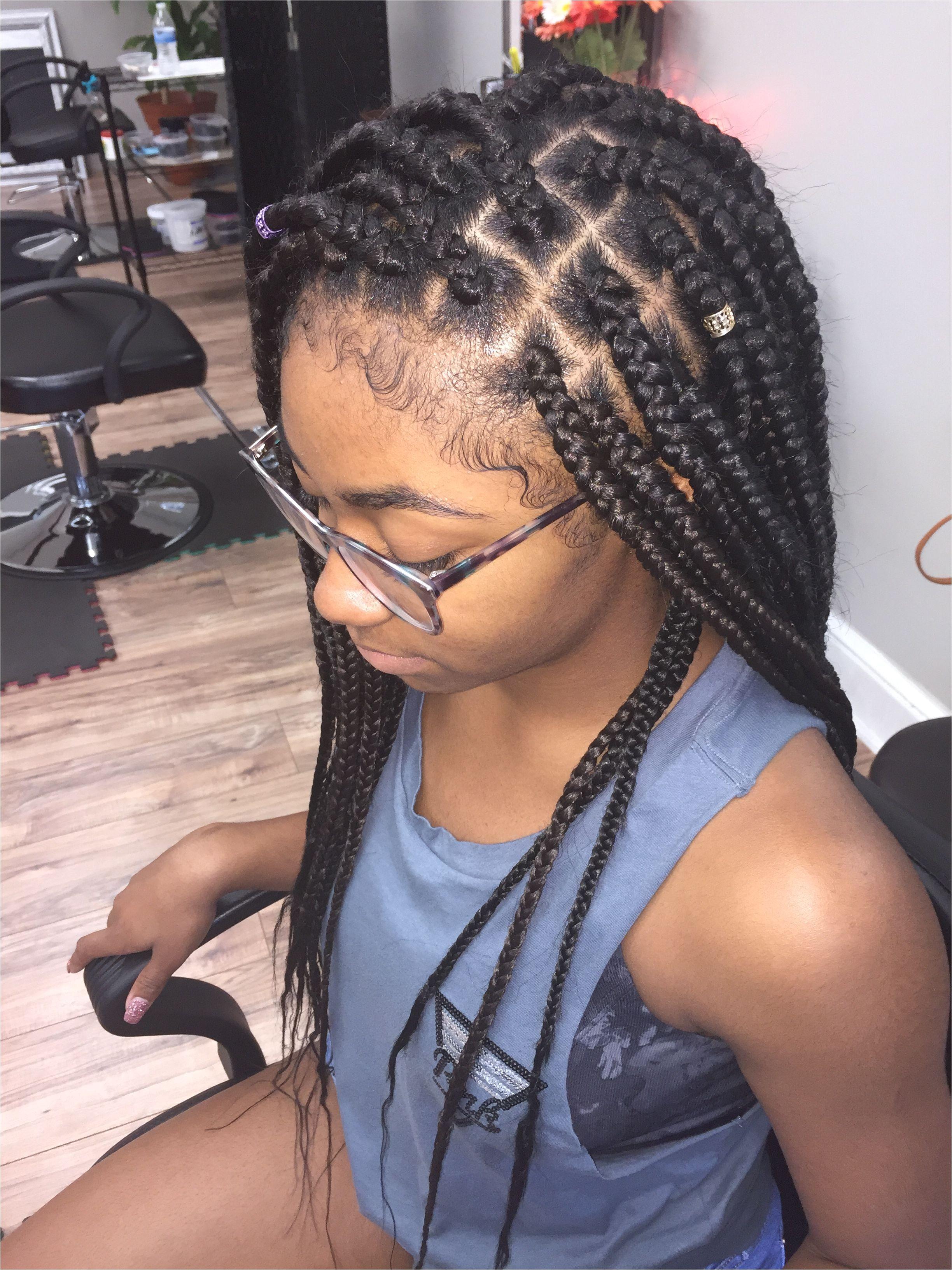 Individual braids box braids poetic justice braids prettynaturalista hair