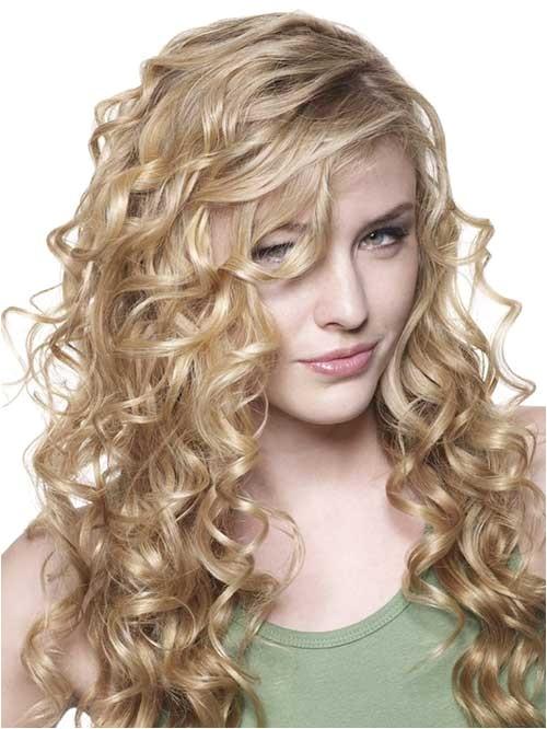 25 beautiful haircuts for curly long hair
