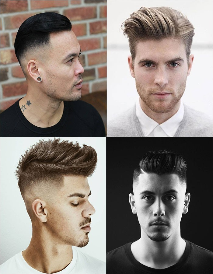 triangle face hairstyles male