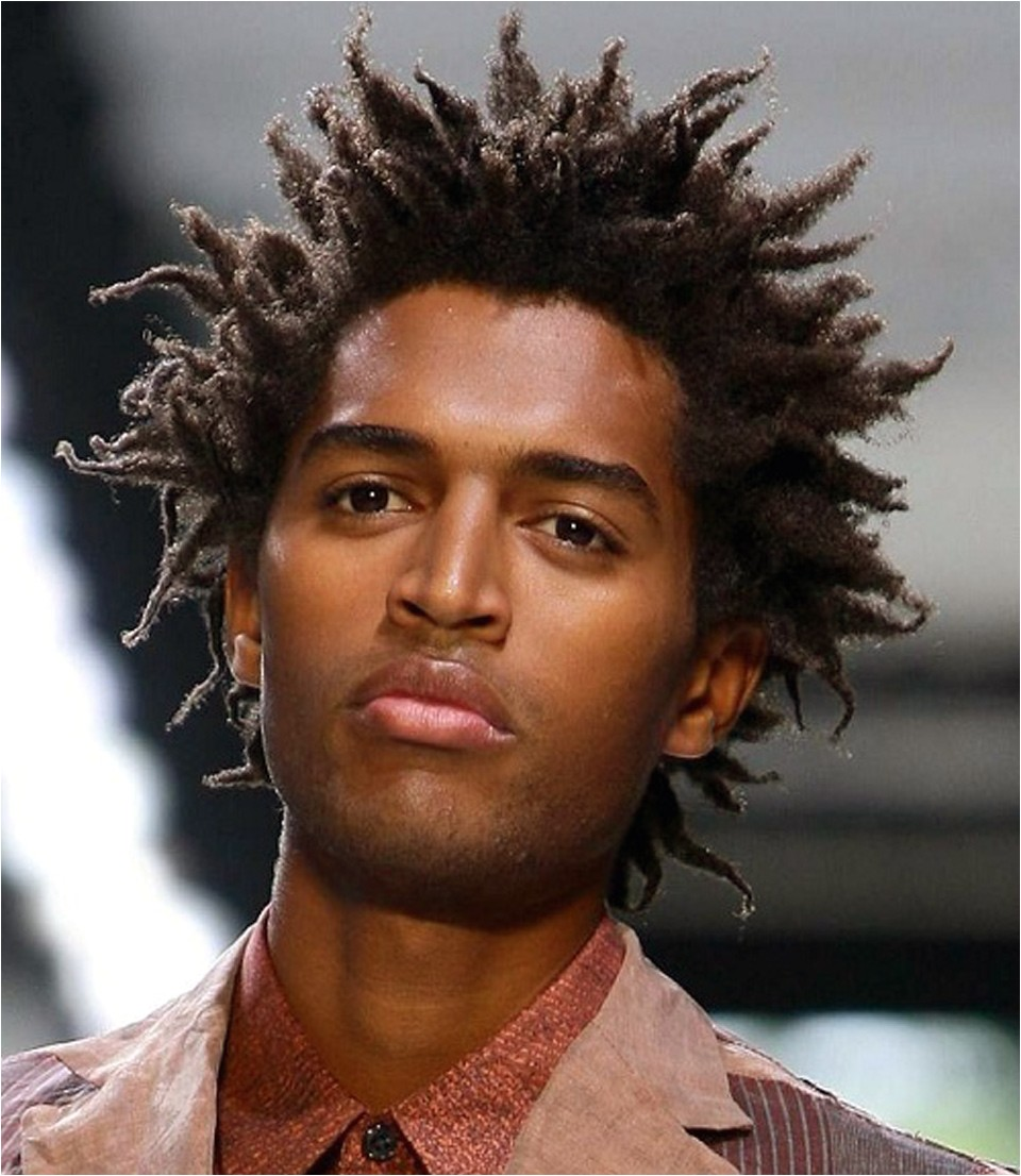 curly haircuts for black men young pictures