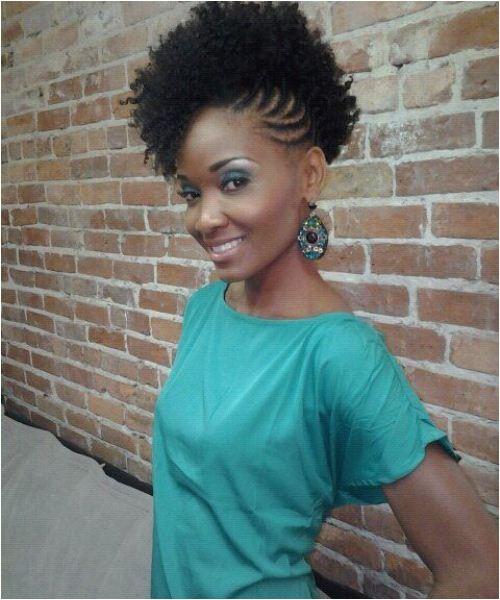 braided side hairstyles black women