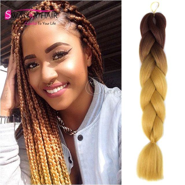 expression braiding hair