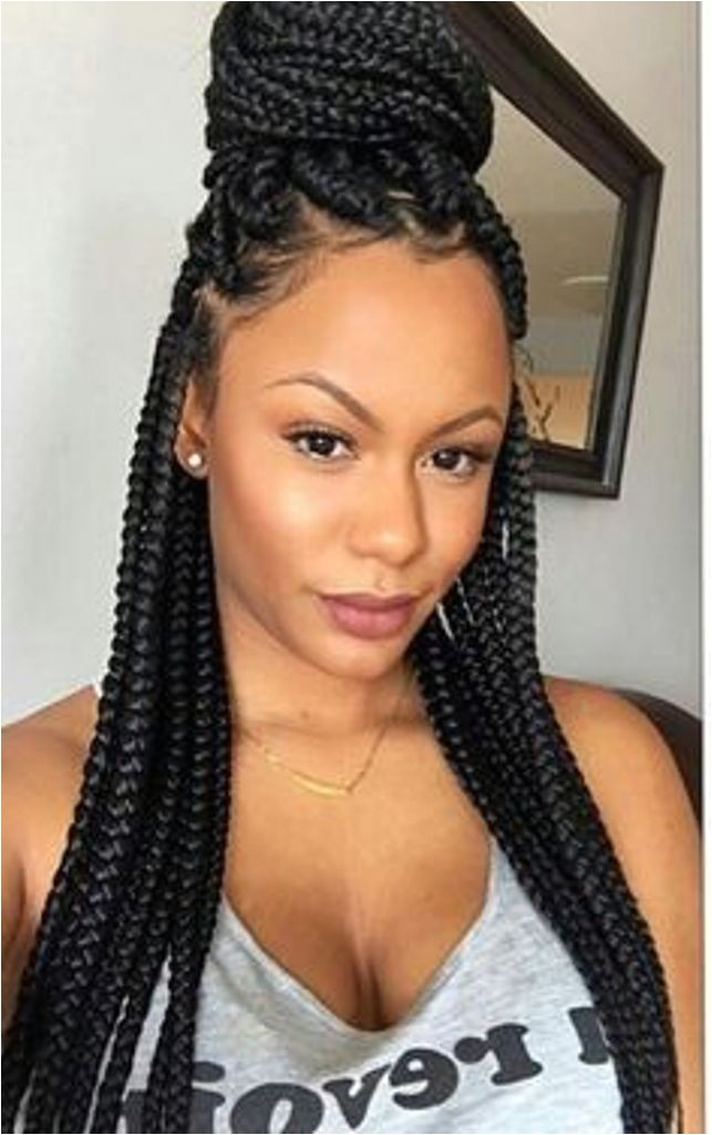 single braids hairstyles trend this summer