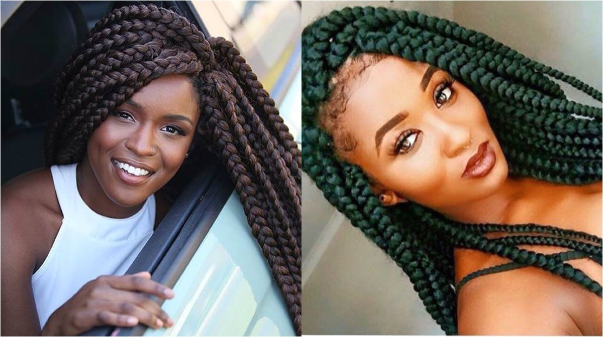 big box braids for black women