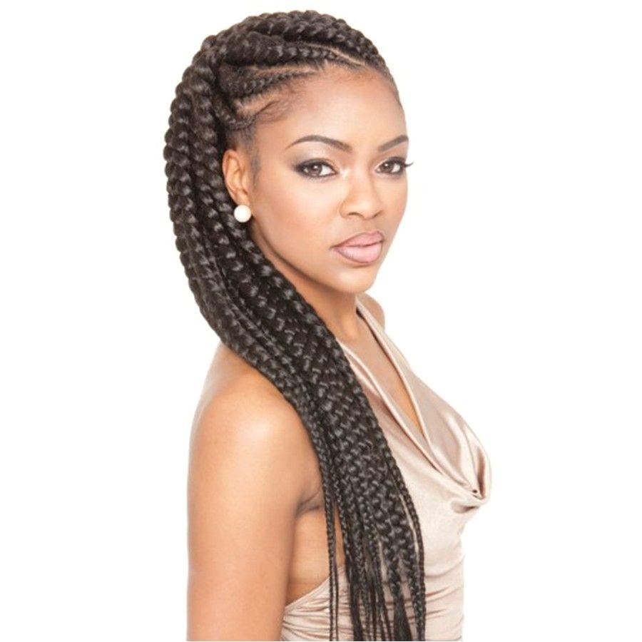 hairstyles with jumbo braids