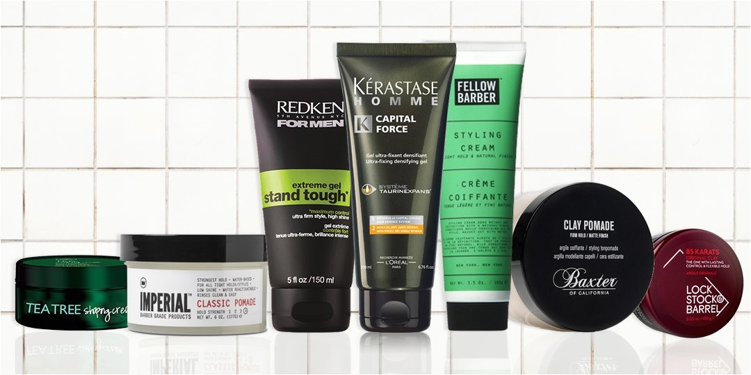 mens hairstyles and products