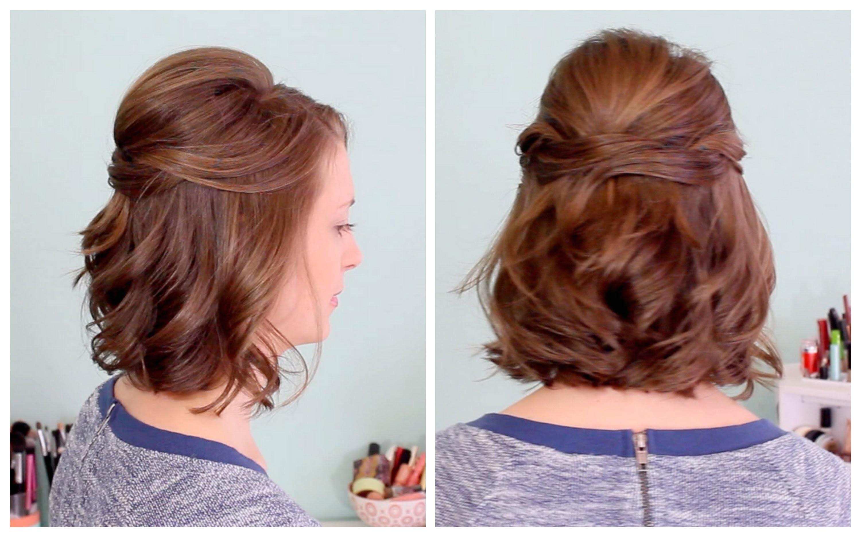 half straight half curly hairstyles
