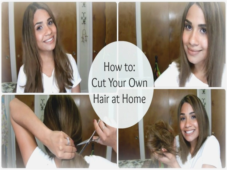 how to give yourself a u haircut for women