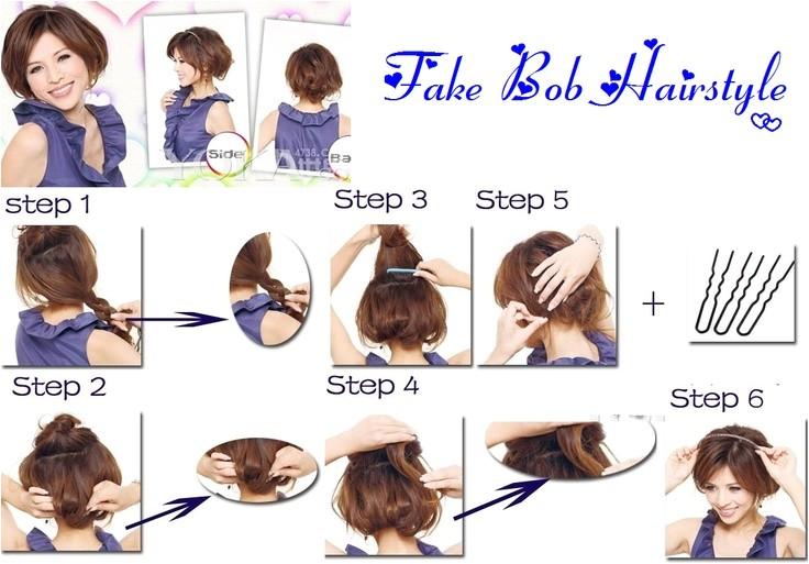 How to Cut A Bob Haircut Step by Step 1