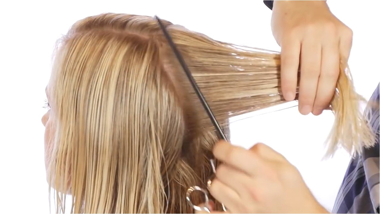 how to cut a bob how to cut the back of a bob haircut 14 steps with pictures
