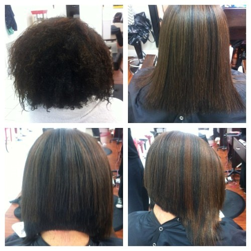 how to cut inverted bob step by step