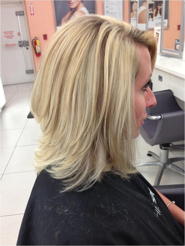 How to Cut A Long Layered Bob Haircut 1
