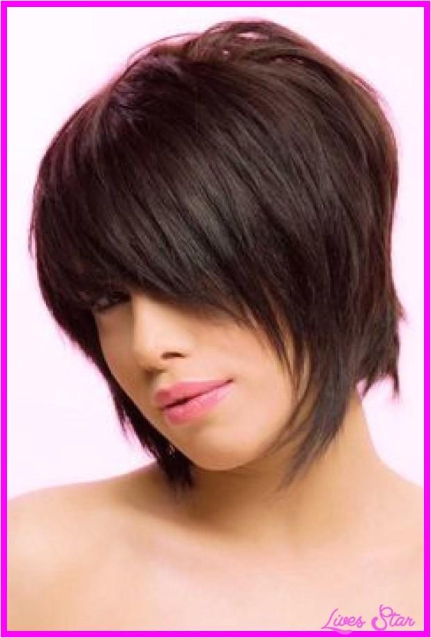 layered shaggy bob hairstyles