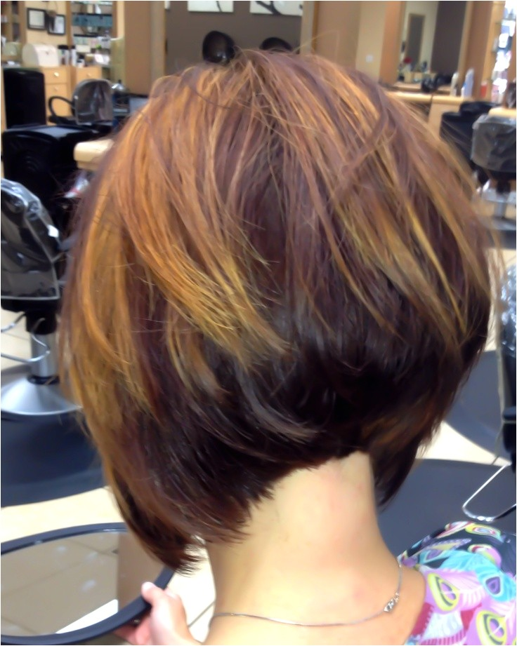 How to Cut A Stacked Bob Haircut Video 2