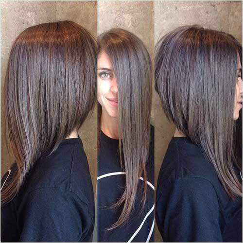 15 long angled bob hairstyle