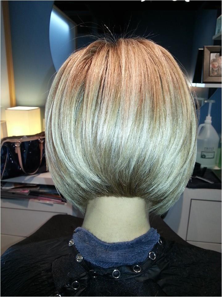 sharon sovinski angled bob haircut photos