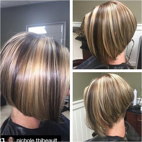 cute layered bob hairstyles