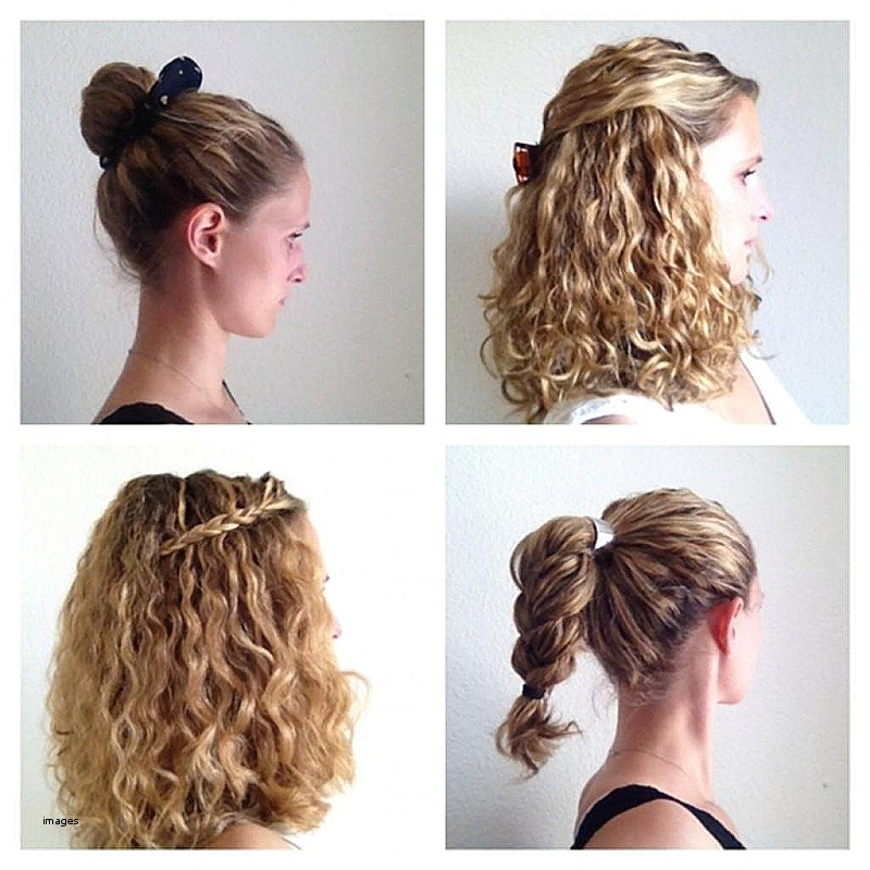 how to do cute hairstyles for curly hair