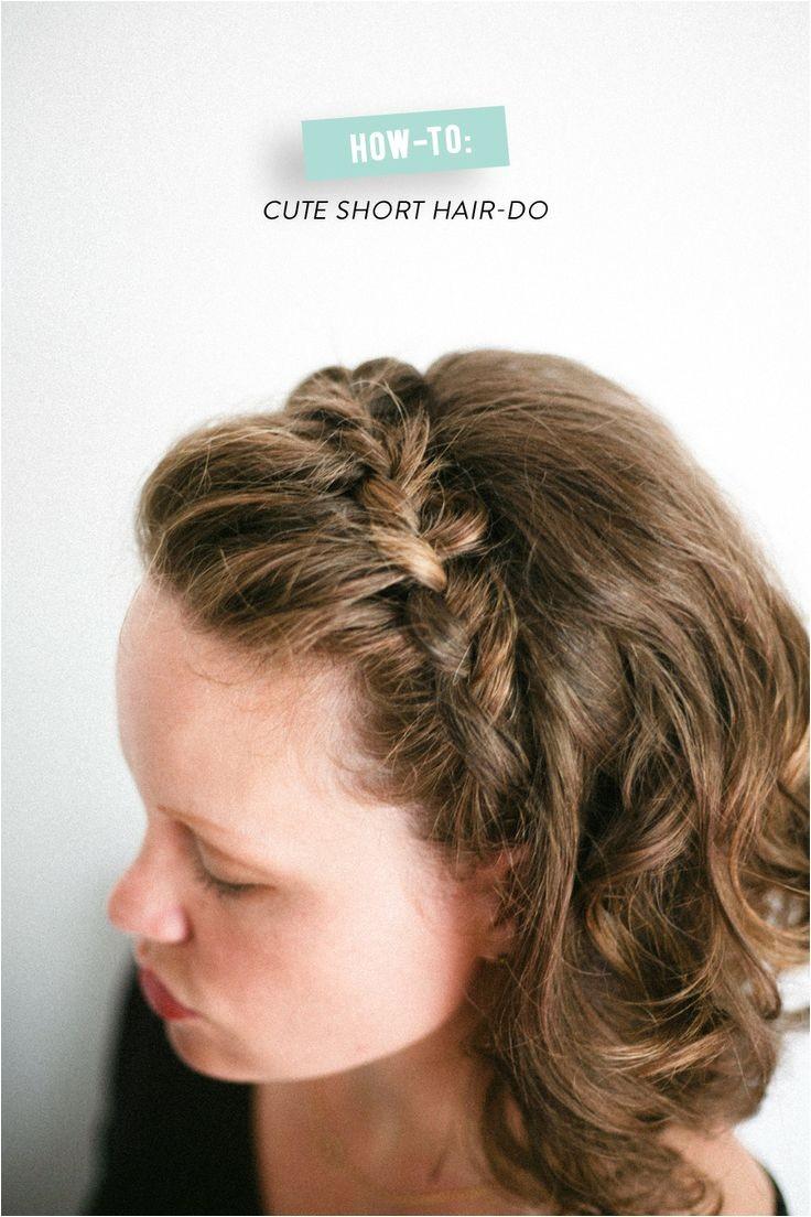 12 pretty braids short hair