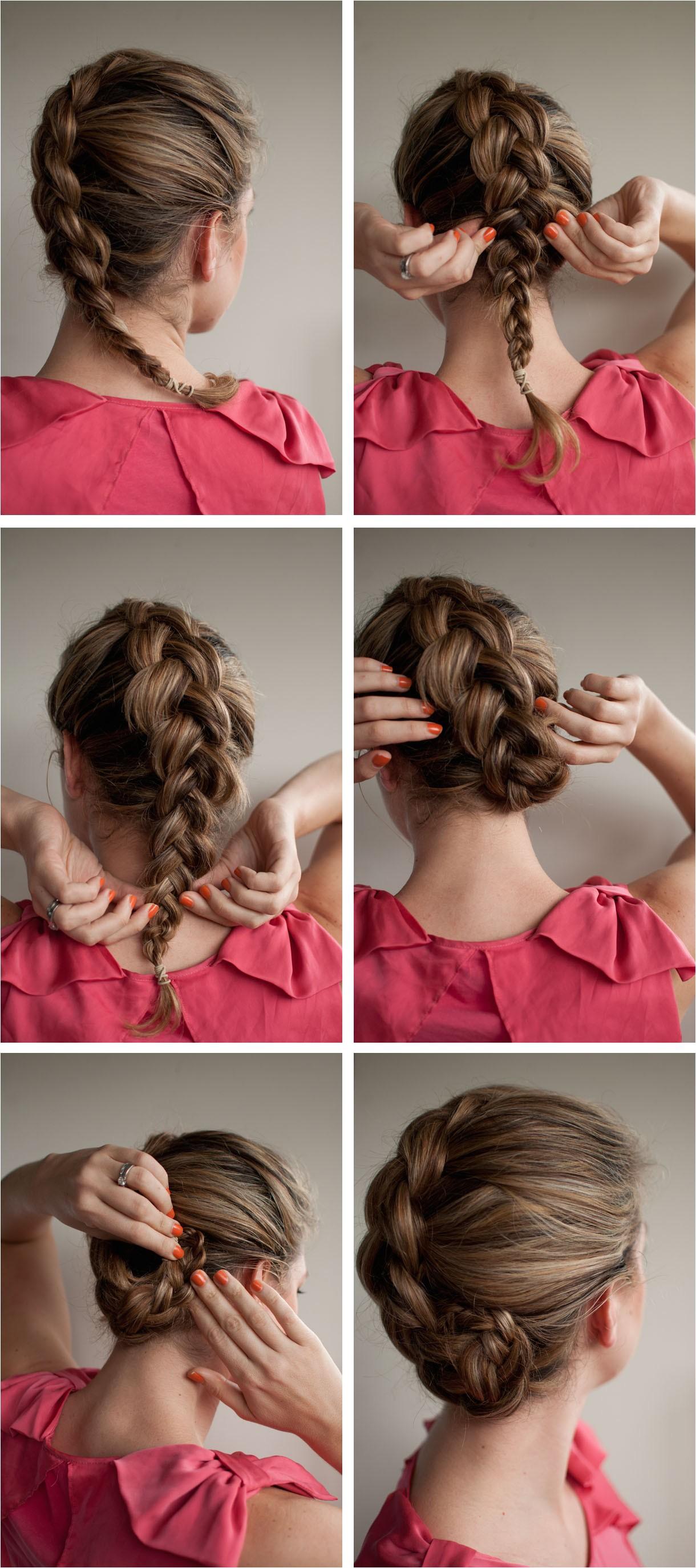 braided upstyle hair romance on latest hairstyles