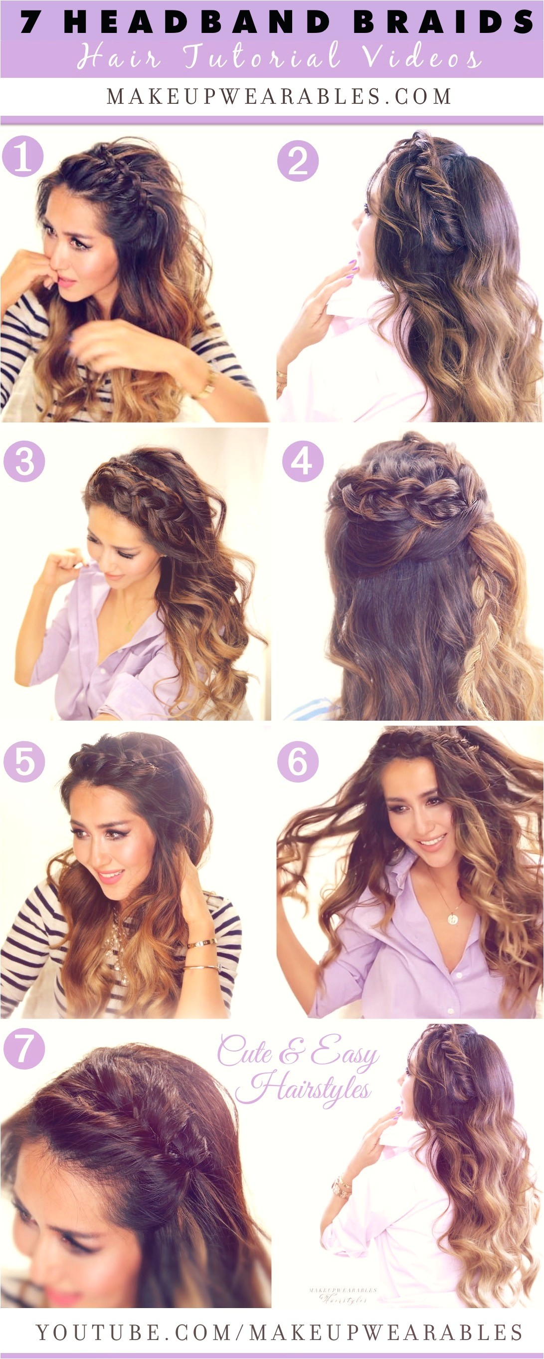 how to headband braids respond