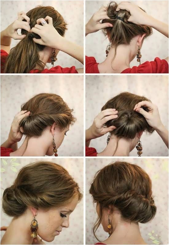 How to Do Hairstyles for Medium Hair Step by Step 1