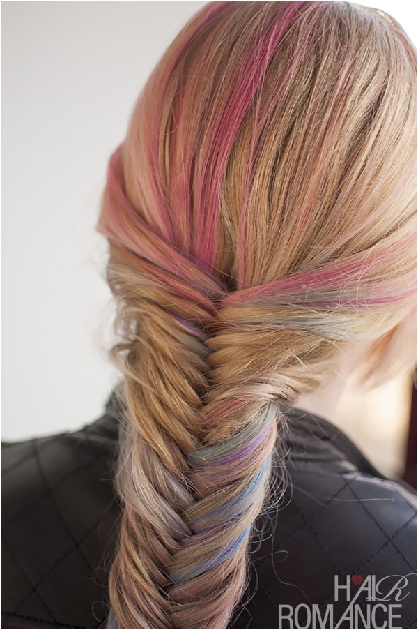 hairstyle tutorial how to do a fishtail braid
