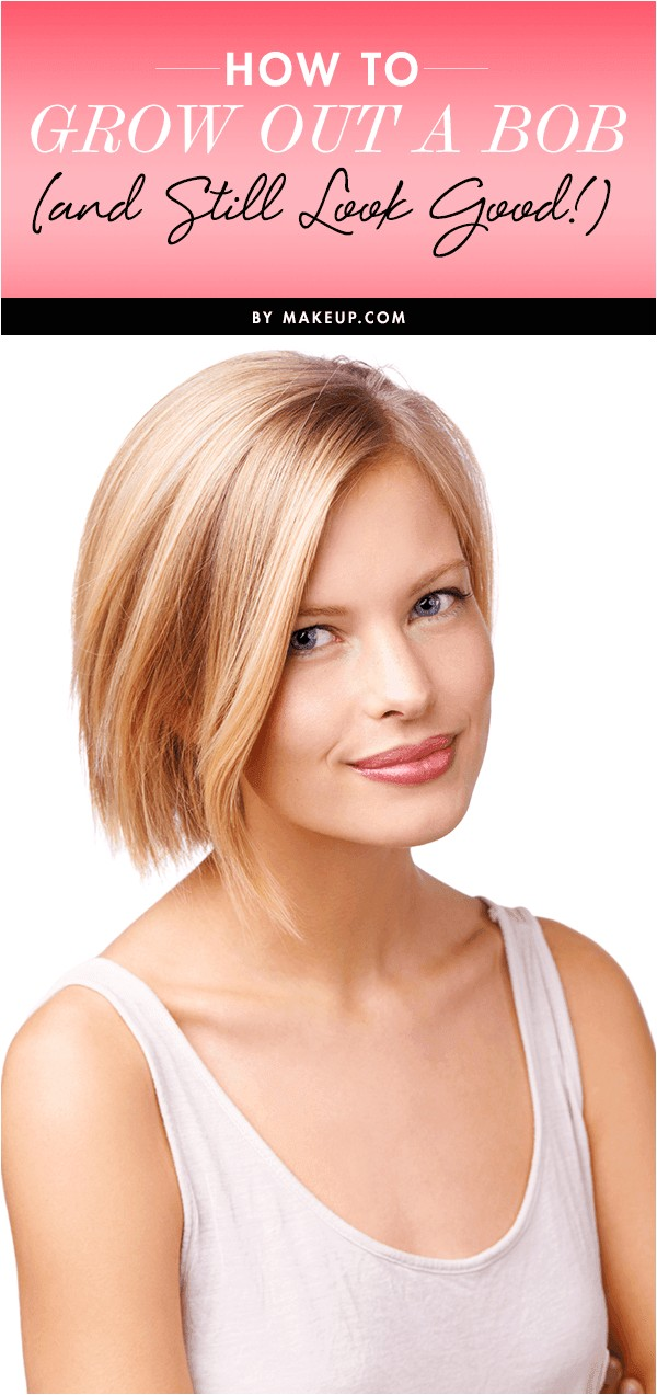 how to grow out a bob