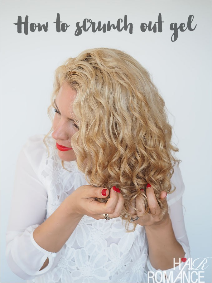 style curly hair gel