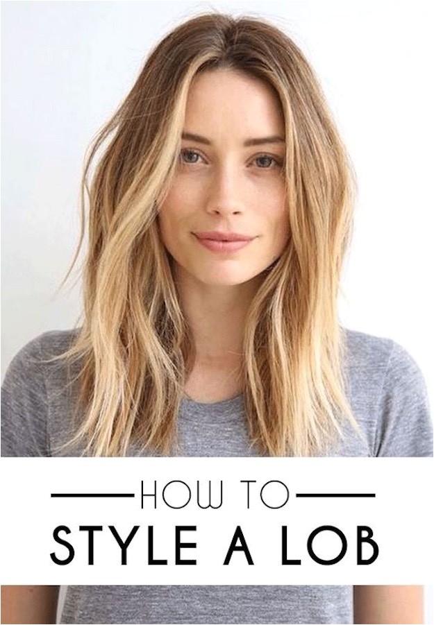 lob haircut ideas women