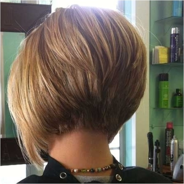 graduated bob back view hairstyles seemly to at the wedding ceremony
