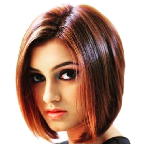 blunt cut hairstyles