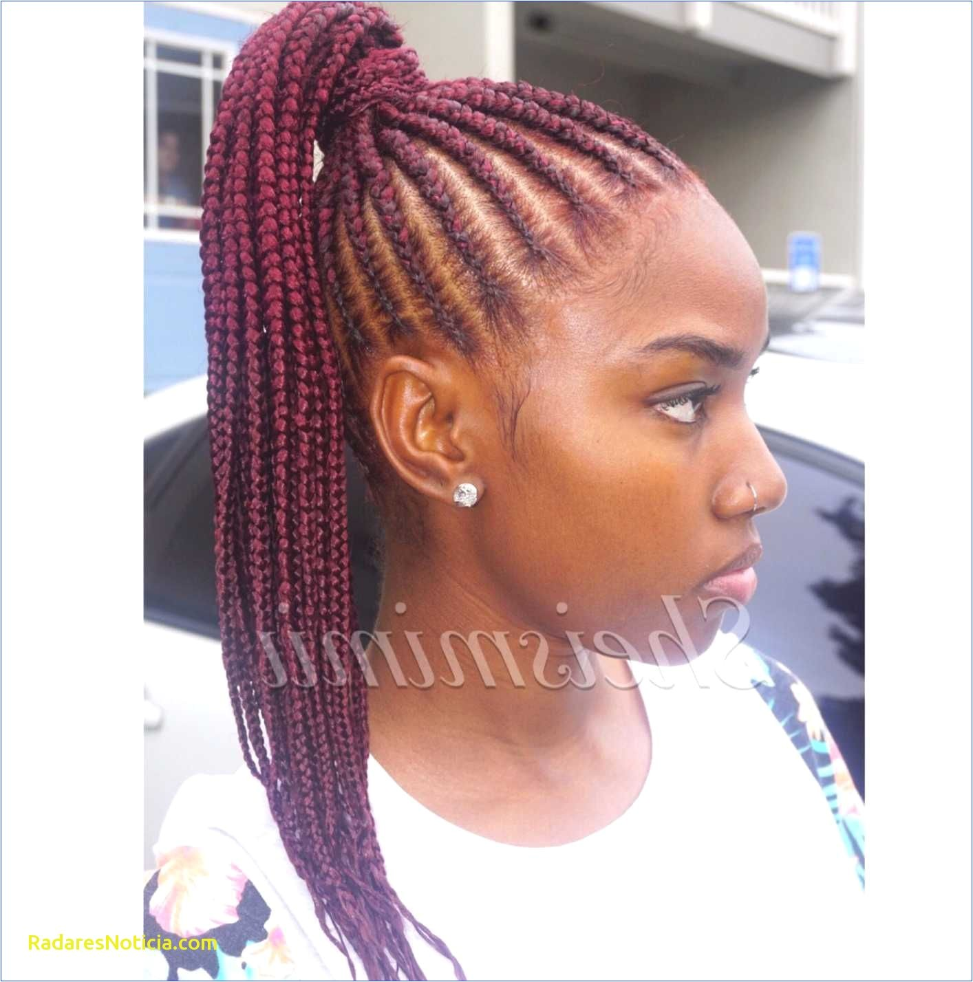 Box Braids Updo Styles 10 Best Braided Ponytail Hairstyles
