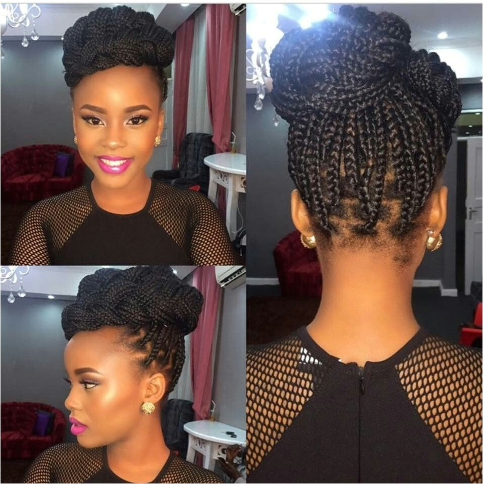 Individual Braids Updo Hairstyles Single Braid Updo Style Perfect 4 Any formal Occasion