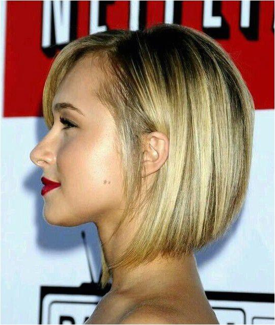 layered angled bob haircut