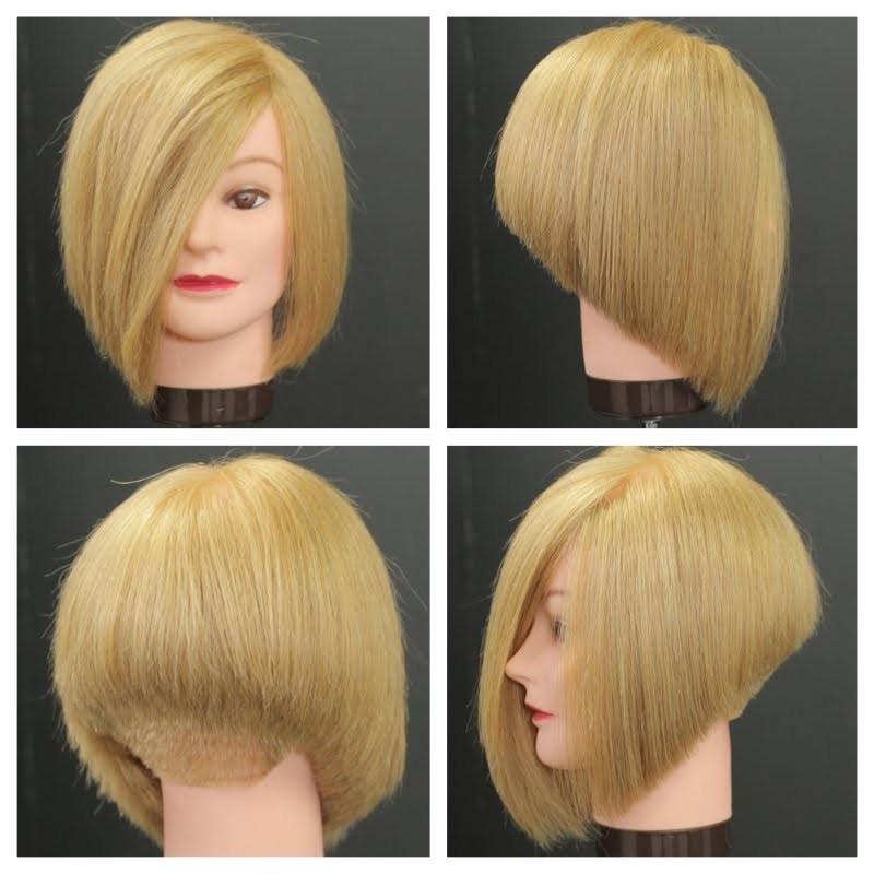 bob haircuts tutorial