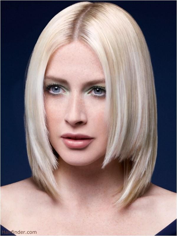bob haircuts with jagged edges