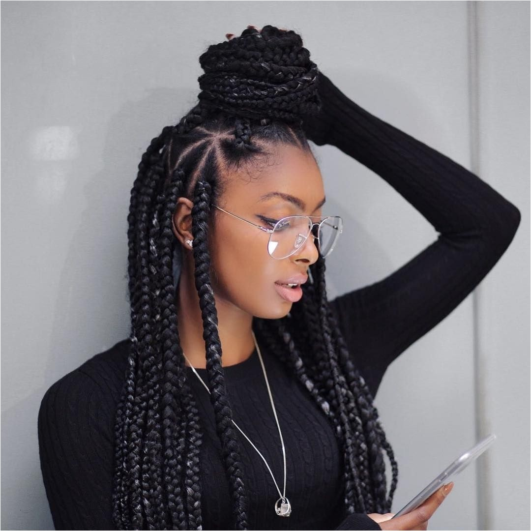Big Box Braids Hairstyles Single Braids Hairstyles Lovely Nice 45 Breathtaking Hairstyles with