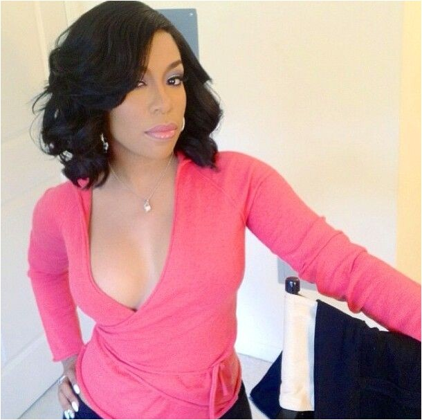 K Michelle Bob Haircut Her Hair Weave Hairstyles and Curls On Pinterest