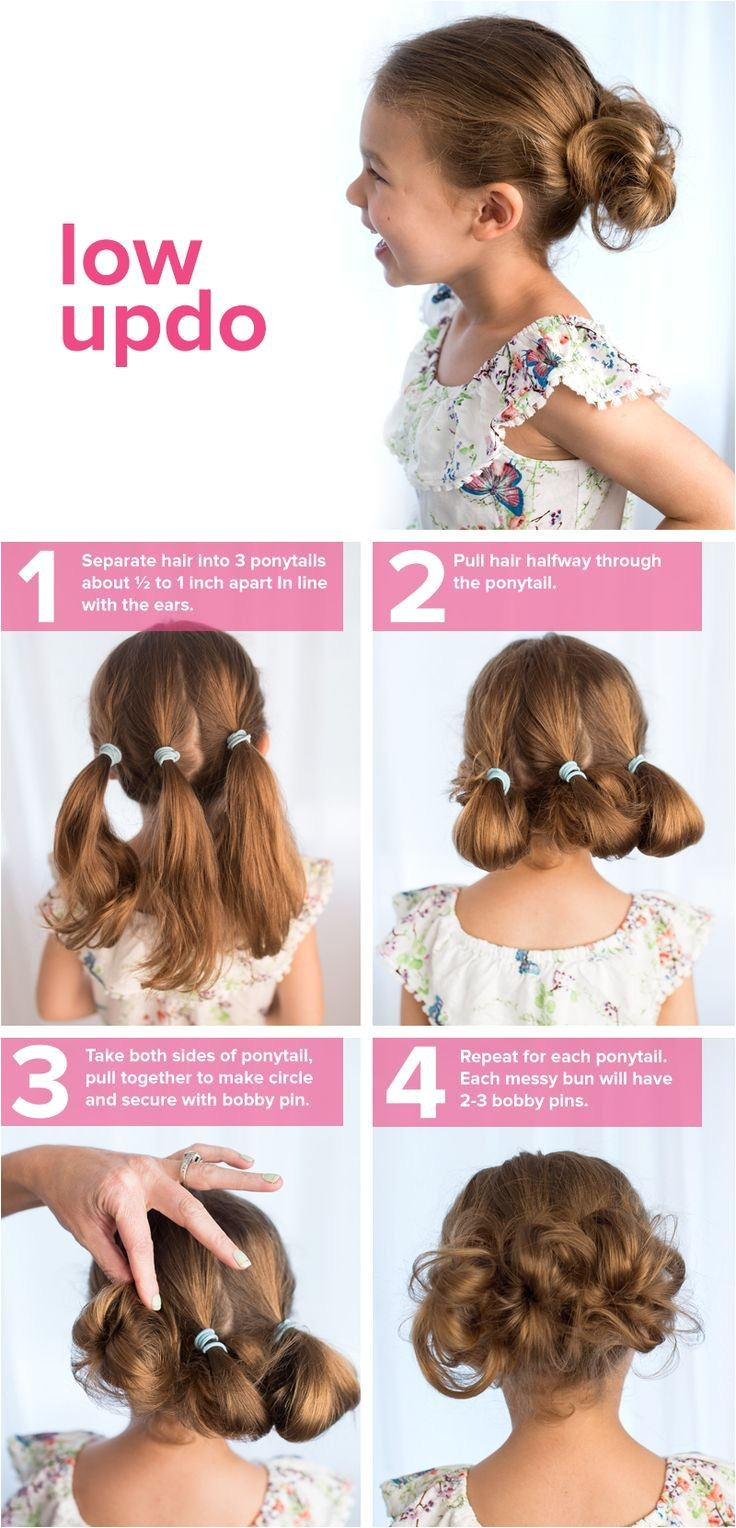 5 fast easy cute hairstyles for girls in 2018 Hair Pinterest