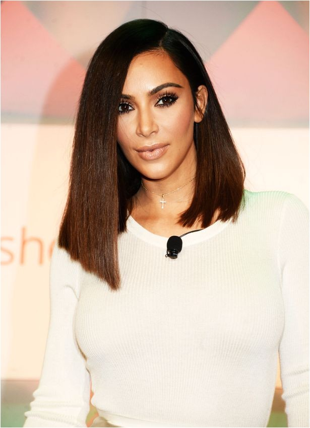 kim kardashian admits blunt bob