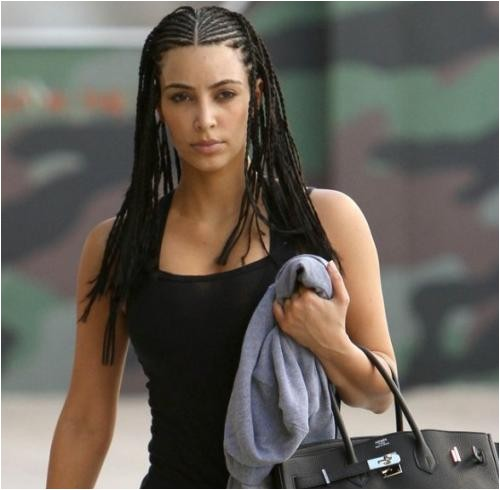celebrities with cornrows