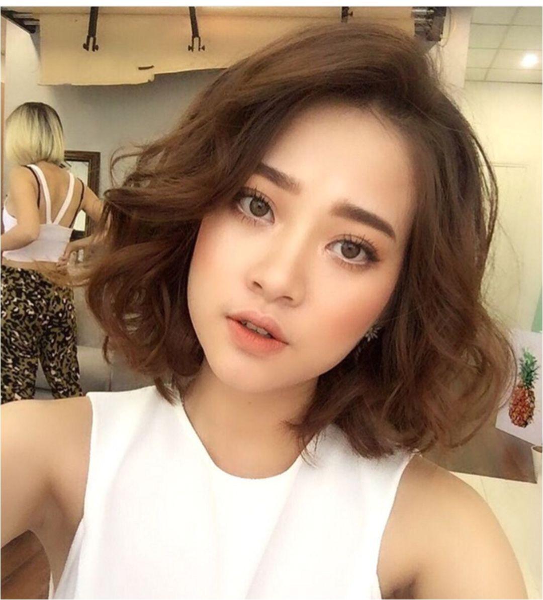 Korean Short Hairstyle for Girl Korean Hairstyle Short 6326 Hair Pinterest