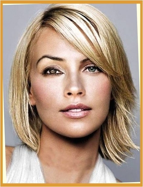 short haircuts for thick hair and oval faces regarding wish