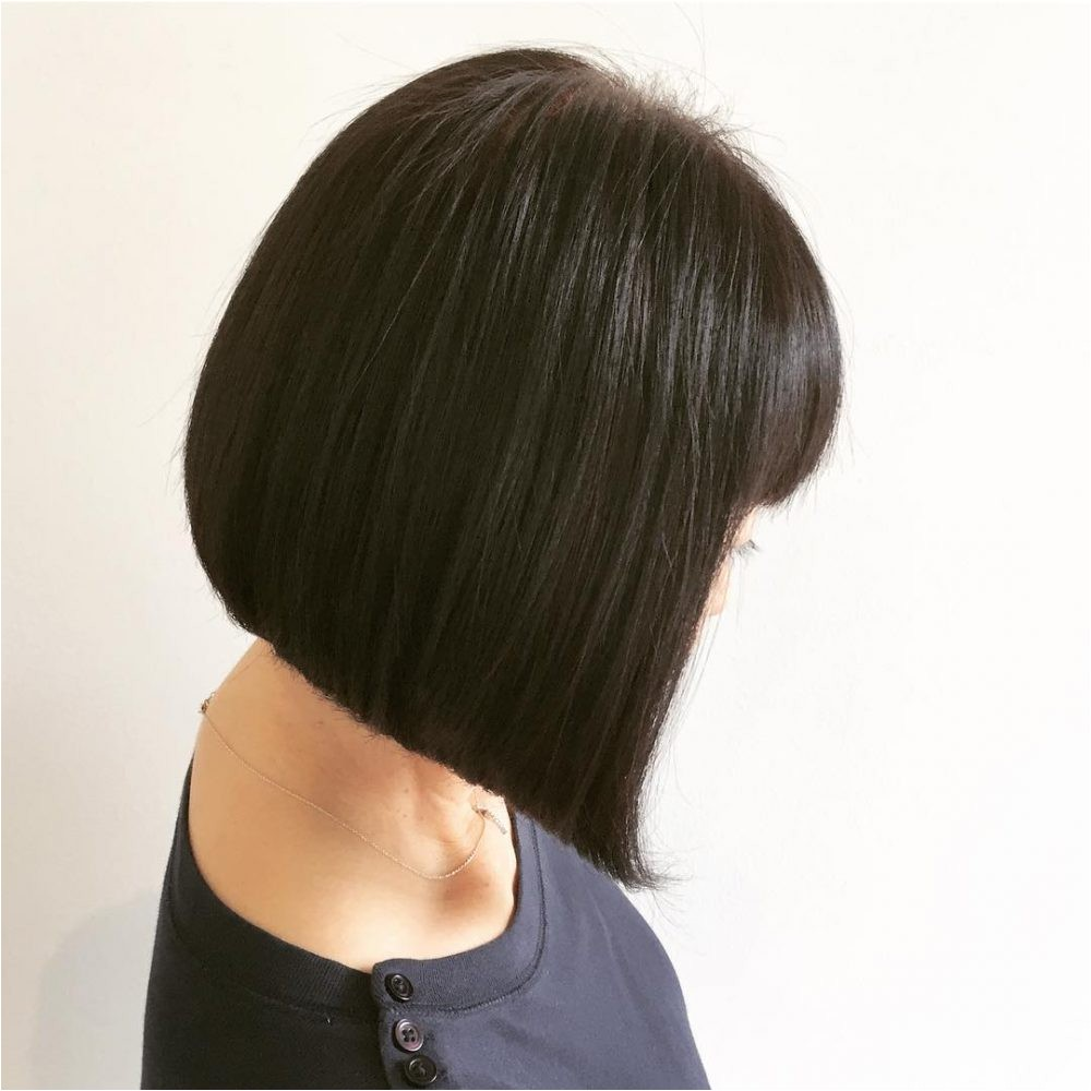 medium a line bob hairstyle pictures